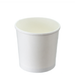 TYPE S75 750ml White Ice Cream Cup